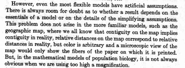 Levins R: The strategy of model building in population biology. American Scientist 1966, 54:421–431.